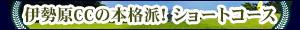 伊勢原カントリークラブ ショートコース